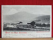 Fotokarte - Bayrisch Eisenstein - Bahnhof Eisenstein - gel. 1901    m1
