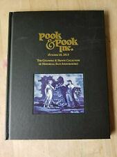 Pook Auction Catalog HC Book Goldberg Brown Historical Blue China Staffordshire