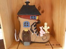 Childs Lamp, Rabbits and Shoe Theme