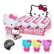 WHOLESALE JOB LOT 12 x HELLO KITTY MINI LED NIGHT LIGHT BODY 10cm COLOUR CHANGE