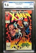 "Marvel Uncanny X-Men # 243 4-89"" CGC Graded 9.6 - X-Factor & The Marauders app."