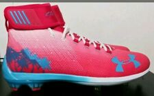 Under Armour Harper 2 Mid  Limited Edition NWOB Miami Bryce Baseball Cleat Shoe