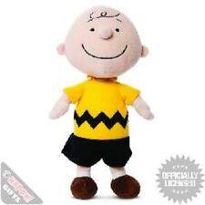 Charlie Brown Soft Toy - Peanuts Retro Tv Comic Strip Plush Novelty