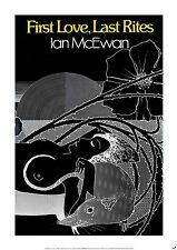 IAN MCEWAN New POSTER of FIRST LOVE, LAST RITES (A1 size)