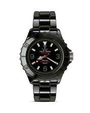 Mens or Ladies Toy Watch CM02BK Ceramica All Black Ceramic Band Case Dial Sport