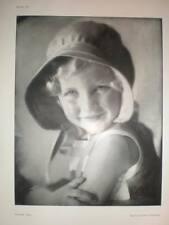 Sunny Jill art child photograph Marcus Adams 1938