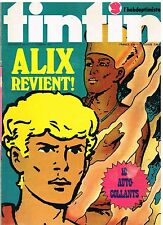 B14- Tintin l'Hebdoptimiste N°30 Alix Revient,Film les 10 Commandements+ Poster