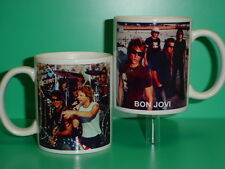 BON JOVI Band - Jon - with 2 Photos - Designer Collectible GIFT Mug 01