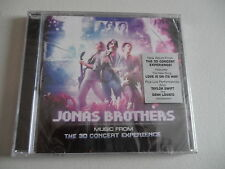 JONAS BROTHERS CD 3D Concert Experience & TAYLOR SWIFT NEW CD CRACK IN CASE FS