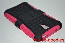 Good Protection Case Cover Stand Pink, For Samsung Galaxy S4 Durable Heavy Duty