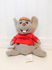 "The Disney Store Exclusive Bernard The Rescuers 8"" Mini Bean Bag Plush Euc"