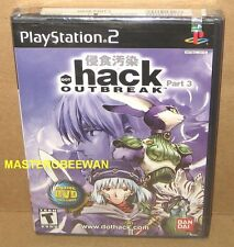 PS2 .hack//OUTBREAK  Part 3 New Sealed (Sony PlayStation 2, 2003)