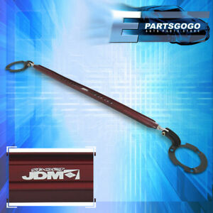 For 02-06 Toyota Camry Front Upper Suspension Aluminum Strut Tower Bar Brace Red