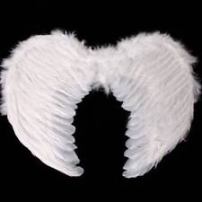 White Feather Angel Fairy Wings Ladies Fancy Dress Nativity Hen Night Christmas