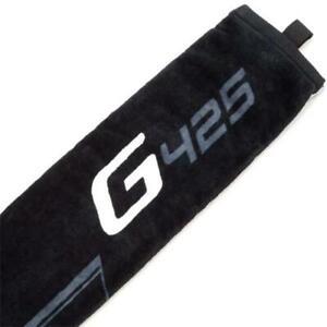 GOLF TOWEL - Ping G425 Trifold Golf Towel - Black PING TOWEL