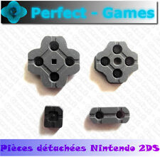 Kit boutons contact touche silicone rubber conductive pad NINTENDO 2DS