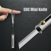 Mini Pocket Knife EDC Multipurpose Knife Camping Equipment Outdoor Peeler US HOT