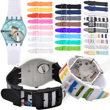 Silicone Wrist Watch Band Straps Bracelet For S watch Printing 16/17/19/20mm New