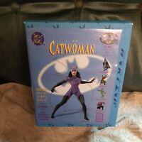 New Open Box Sealed Horizon 1996 Batman Sculpted Vinyl Model Kit 3701 Cat Woman