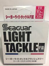 51000) Seaguar LIGHT TACKLE FLASH III 8 Braided PE Line #1(19lb/8.4kg) 210m