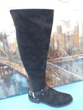 Womens Black Riding tall  Boots Size 8 M