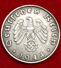 Rarest Old WWII German War 10 Cent Coin Military Army Collection Army 1944 D-Day <br/> Hold A Peice Of History In Your Hands - WW2 Artifact