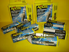 SET 8 ACCEL 0514 COPPER CORE SPARK PLUGS MANY FORD 4 6 8 14MM .708 REACH