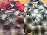 Mens Flannel shirts Lumberjack flannel check Assorted colour check winter shirts