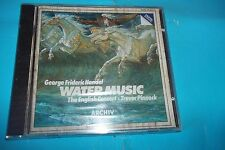 "CD GEORGE FRIDERIC HANDEL "" WATER MUSIC "" THE ENGLISH CONCERTCD 1983 NUOVO SIGIL"