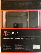 New Microsoft Zune Home A/V Pack v2 for Zune & Zune HD H7A-00001 - 882224519830