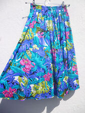 Cotton Blend 1990s Vintage Skirts for Women