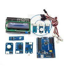 Arduino Uno Compatible Starter Kit 1602 LCD Keypad Relay Light IR Sensor Buzzer
