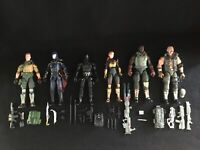 GI JOE CLASSIFIED SERIES LOT DUKE SNAKE EYES COBRA COMMANDER SCARLETT ROADBLOCK