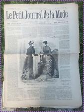 The Petit Journal de La Fashion - N°6 - 5 February 1882 ( very rare )