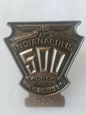 1997 Indianapolis 500 Silver Pit Badge