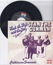 """Hank the knife and the jets, Stan the Gunman, G/VG,  7"""" Single 1011-1"""