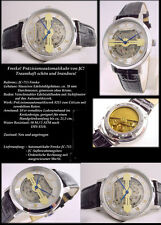 Fresko-Designer unisex esqueletos-reloj automático fondo de cristal nuevo