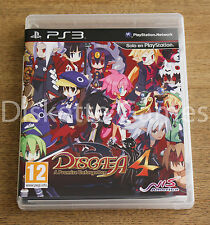 DISGAEA 4 A PROMISE UNFORGOTTEN - PLAYSTATION 3 PS3 PLAY STATION 3 - PAL ESPAÑA