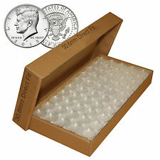 10 Direct Fit Airtight 30.6mm Coin Holders Capsules For JFK HALF DOLLARS LOTZ