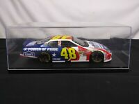 XRARE 1:24 Jimmie Johnson #48 LOWE'S POWER OF PRIDE 2003 US FLAG Die Cast NASCAR