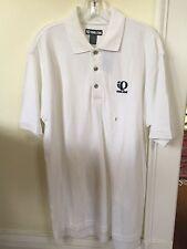 New Pearl Izumi Polo Shirt Size Small White