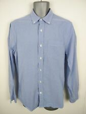 MENS GAP BLUE BUTTON UP LONG SLEEVED SMART/CASUAL SLIM FIT SHIRT SIZE M MEDIUM