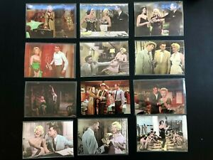 Lot 26 Marilyn Monroe Color Postcards Hollywood Movie Scenes Bus Stop, 7 Yr Itch