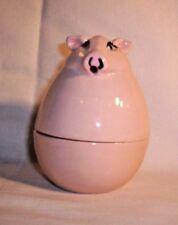 Pig E454a 19.2358 Ceramic Pig Box / String Holder