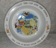 Avon Hey Diddle Diddle 1984 Bowl Nursery Rhyme Mother Goose Excellent Condition