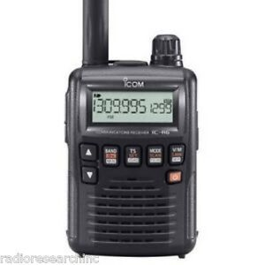 ICOM IC-R6 SPORT 0.1-1309.995MHz Scanning Receiver Scanner Police Fire EMS