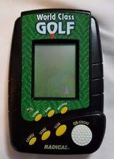 World Class Golf  Radica Electronic Handheld Travel Game
