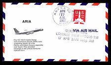1972 APOLLO 16 ARGANA, GUAM - APOLLO RANGE INSTRUMENTATION AIRCRAFT (ESP#1613)