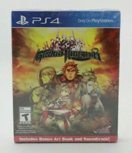 Grand Kingdom Launch Day Edition (Playstation 4 PS4) Brand New Sealed