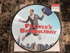 Pee Wee Herman Big Holiday Adventure Movie Playhouse Vinyl Picture Disc Record